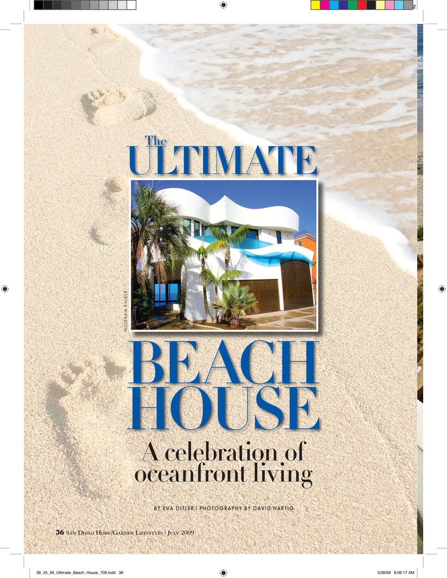 Architectural Photographers San Diego Home & Garden Lifestyles Editorial Cover Story