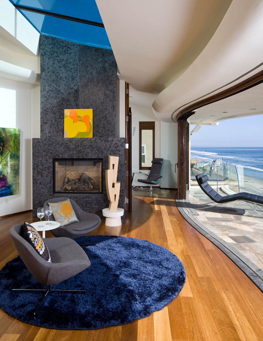 Architectural Photographer San Diego Interior Beach House Wolf Design