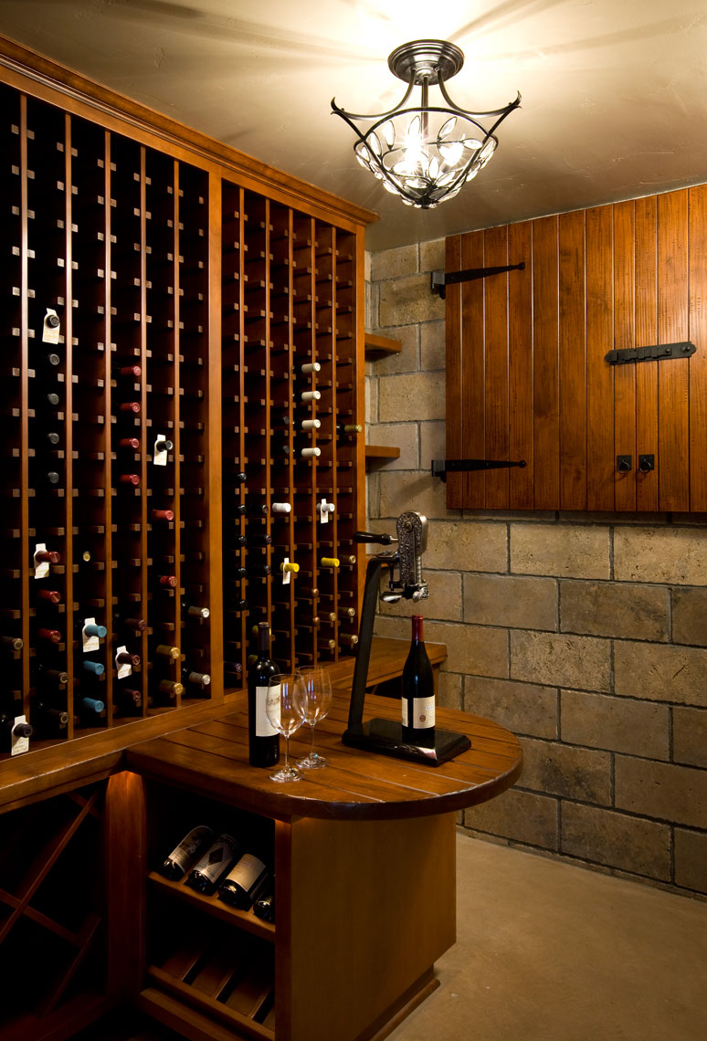 Architectural Photographer Wine Cellar San Diego Home & Garden Lifestyles Editorial Magazine Story