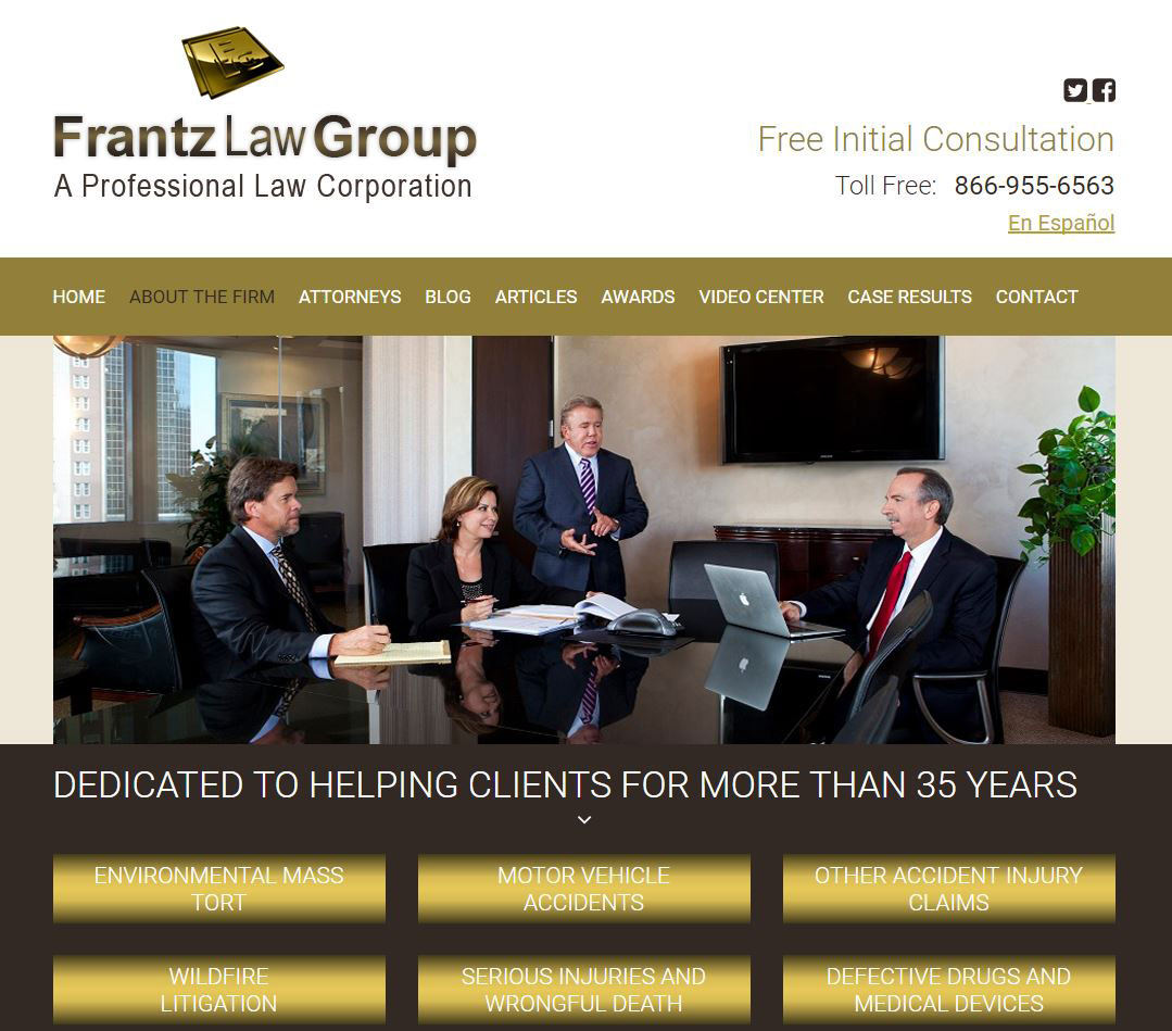 Corporate Lifestyle Photography San Diego Frantz Law Group Law Firm