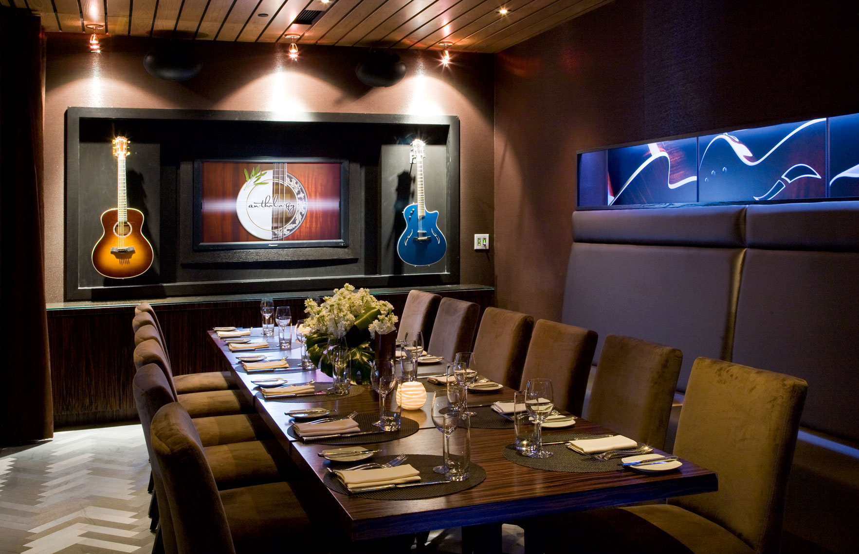 Architectural Photographers San Diego Private Dining Room Restaurant Anthology